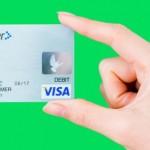 任意整理後にVISAデビットカードは使えるか